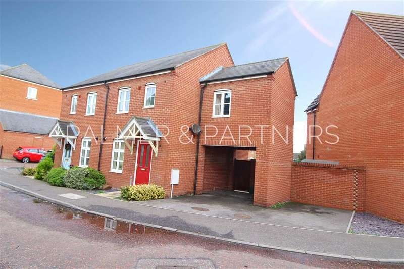 3 Bedrooms Semi Detached House for sale in Springham Drive, Myland, Colchester