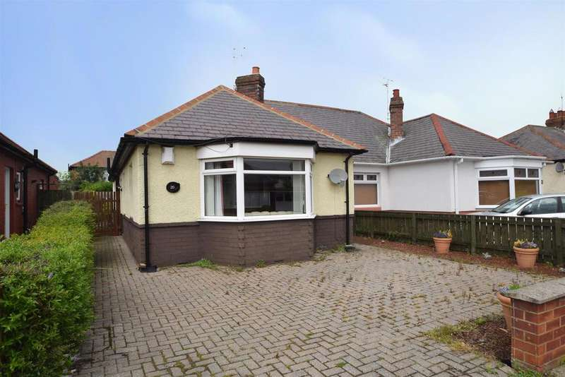 3 Bedrooms Semi Detached Bungalow for sale in Grange Park, West Monkseaton