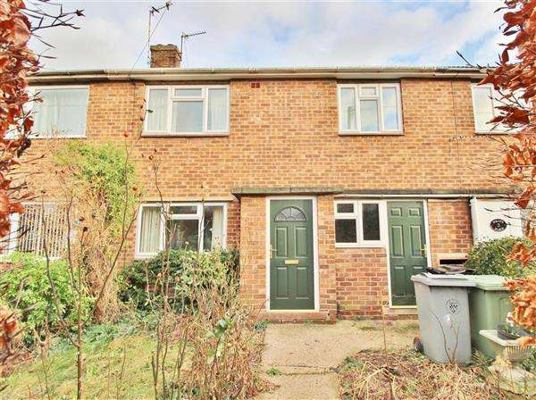 2 Bedrooms Terraced House for sale in Cornwall Close, Grantham