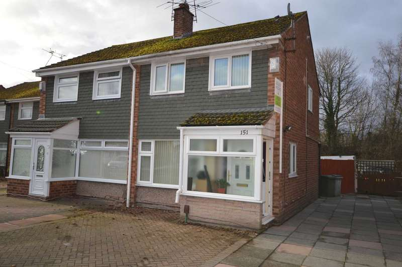 3 Bedrooms Semi Detached House for sale in Sutherland Drive, Eastham