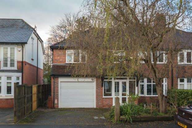 5 Bedrooms Semi Detached House for sale in Cecil Road, Hale