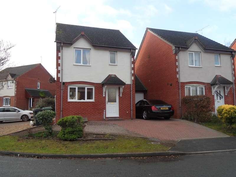 3 Bedrooms Link Detached House for rent in Hoskyns Avenue, Warndon Villages, Worcester, WR4