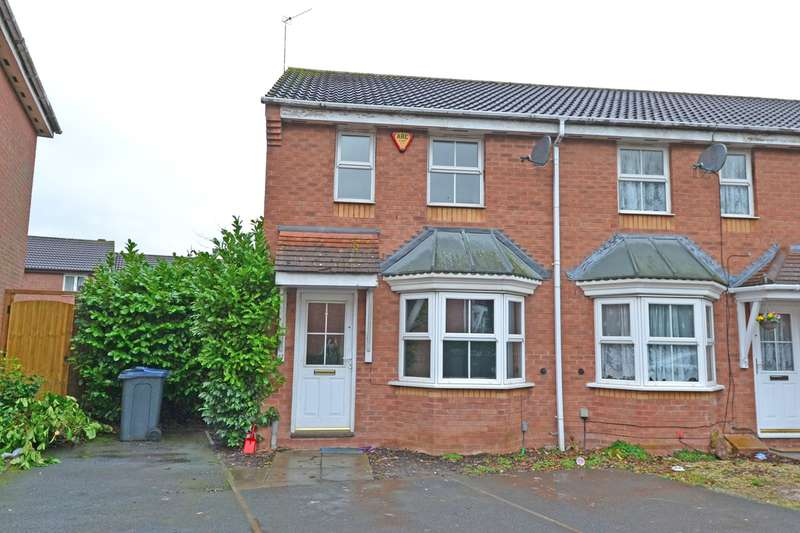 2 Bedrooms End Of Terrace House for sale in Woodcock Close, Northfield, Birmingham, B31