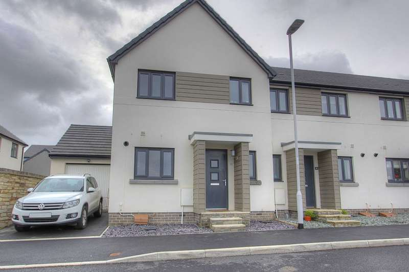 3 Bedrooms Semi Detached House for sale in Killerton Lane, Plymouth, Devon, PL9 7GA