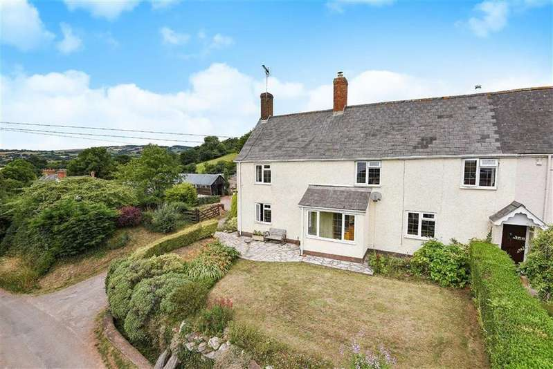 3 Bedrooms Semi Detached House for sale in Tolland, Tolland, Taunton, Somerset, TA4