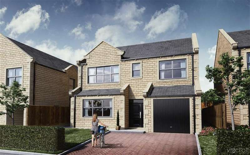 4 Bedrooms Detached House for sale in Cliffewood Rise, Clayton West, Huddersfield, HD8