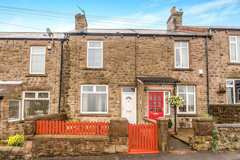 2 Bedrooms Terraced House for sale in Pleasant View, Medomsley, Consett, DH8