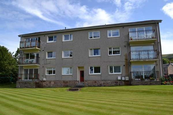 2 Bedrooms Flat for sale in 8 Fairlieburne Flats, Fairlie, Largs, KA29 0DS