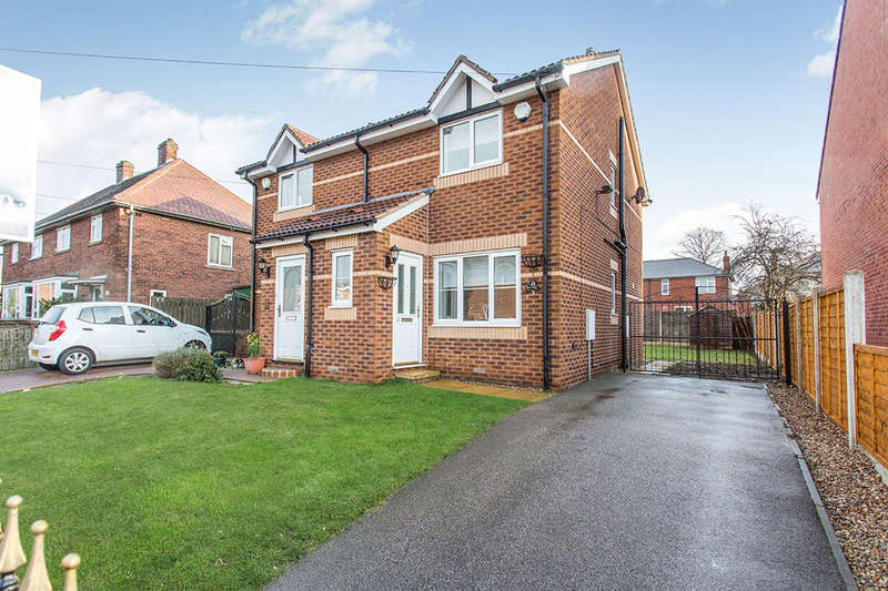 2 Bedrooms Semi Detached House for sale in Summerdale Road, Cudworth, Barnsley, S72