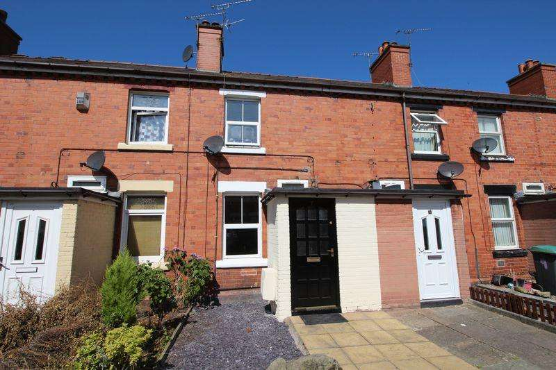 2 Bedrooms Terraced House for sale in Chapel Terrace, Ponciau