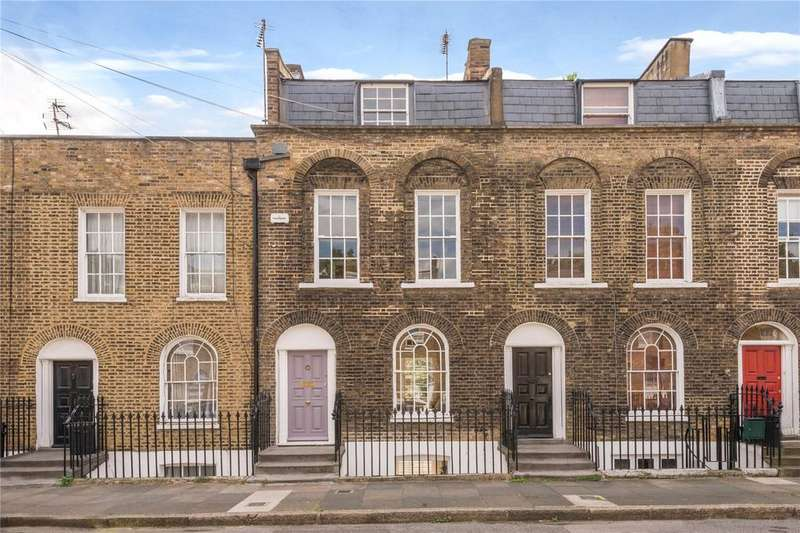3 Bedrooms Terraced House for sale in Brooksby Street, Barnsbury, Islington, London