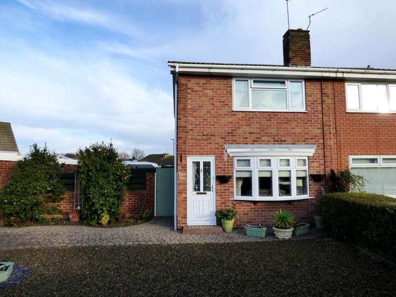 2 Bedrooms Semi Detached House for sale in Castle Road, Redcar