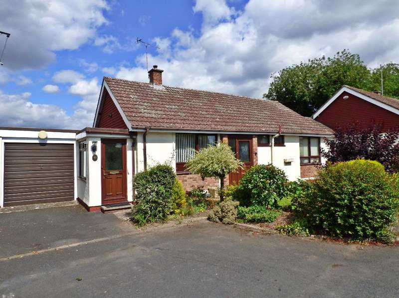 2 Bedrooms Detached Bungalow for sale in Acacia Close, Putson, Hereford