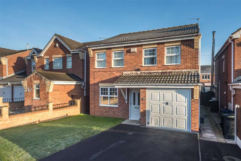 4 Bedrooms Detached House for sale in Bayford Way, Wombwell, Barnsley, South Yorkshire, S73
