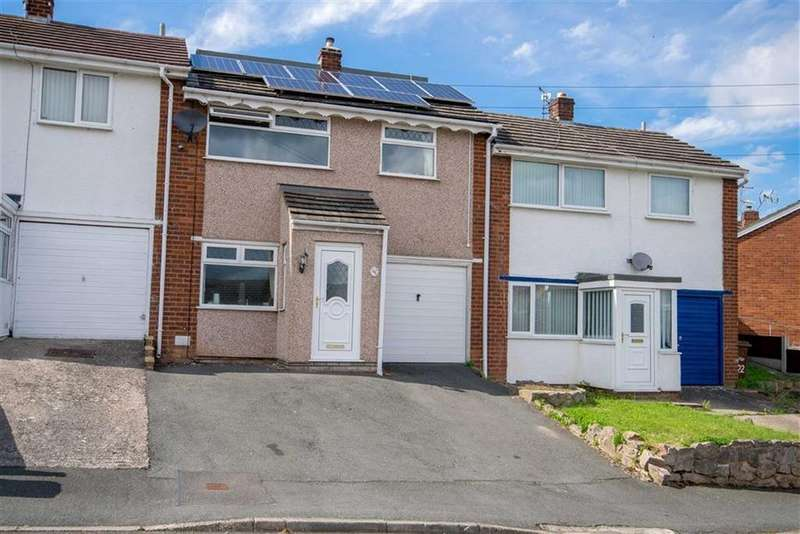 3 Bedrooms Terraced House for sale in Greenbank Drive, Flint, Flint