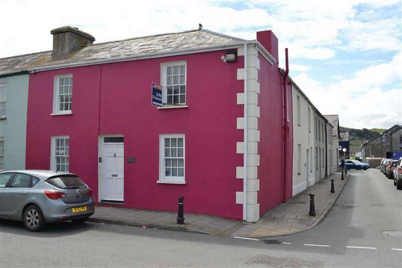3 Bedrooms End Of Terrace House for sale in Tabernacle Street, Aberaeron, Ceredigion