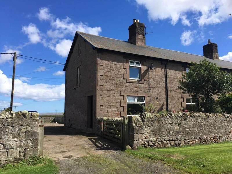 3 Bedrooms End Of Terrace House for rent in Buckton, Belford, Northumberland, NE70