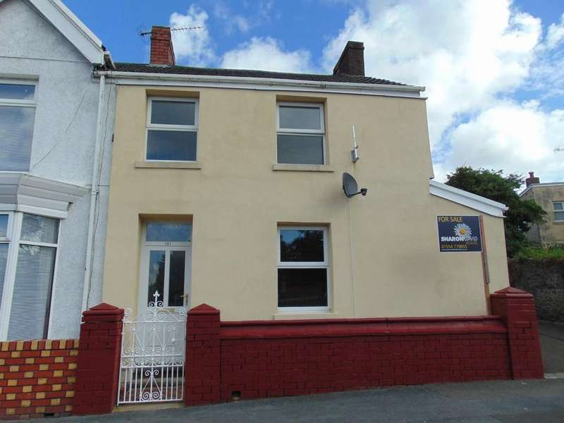 3 Bedrooms End Of Terrace House for sale in Swansea Road, Llanelli