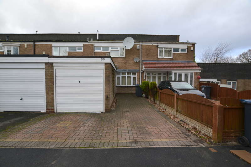 3 Bedrooms Terraced House for sale in Gravel Bank, Woodgate Valley