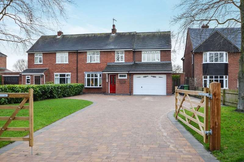 4 Bedrooms Semi Detached House for sale in School Lane, Stretton On Dunsmore