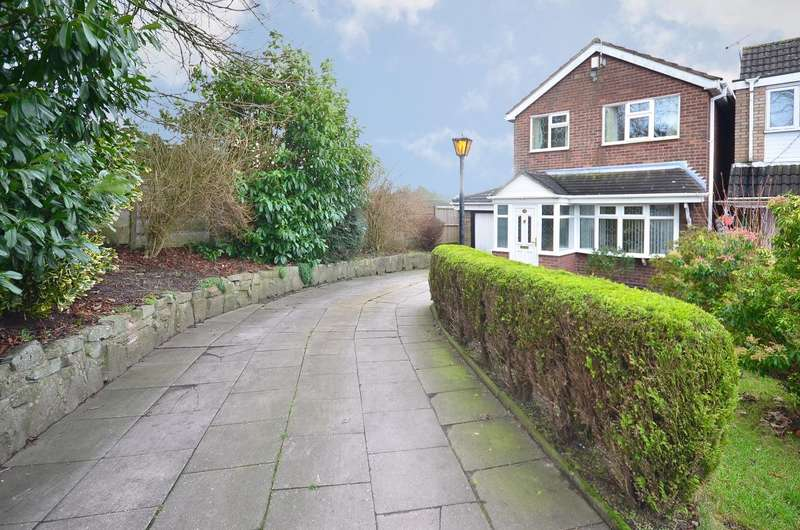 3 Bedrooms Detached House for sale in Faulkner Place, Parkhall, ST3 5RY
