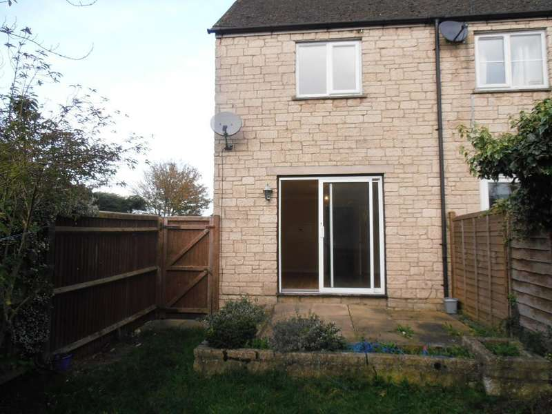 2 Bedrooms Semi Detached House for rent in Bibury Close, Witney, Oxon, OX28 5GB
