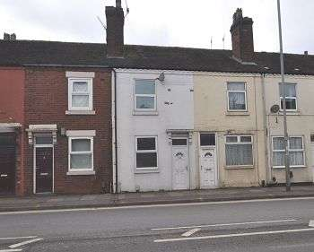 2 Bedrooms Terraced House for sale in Victoria Road, Stoke-on-Trent, ST4 2JX