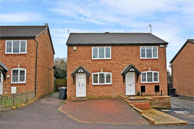 2 Bedrooms Semi Detached House for rent in Worcester Close, Northampton, NN3 9GD