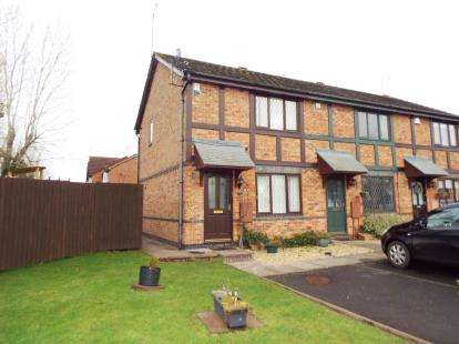 2 Bedrooms End Of Terrace House for sale in The Green, Hagley, West Midlands