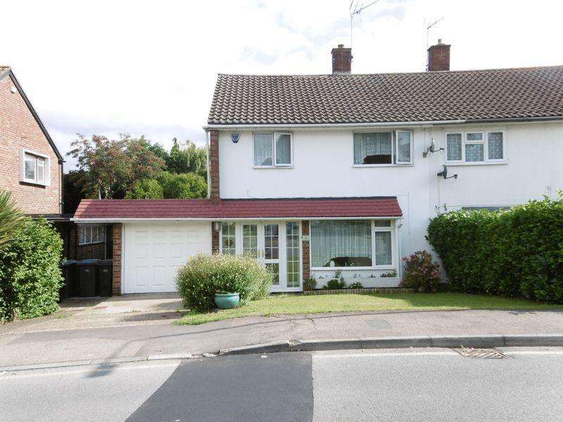 3 Bedrooms Semi Detached House for sale in Felmongers, Harlow, Essex