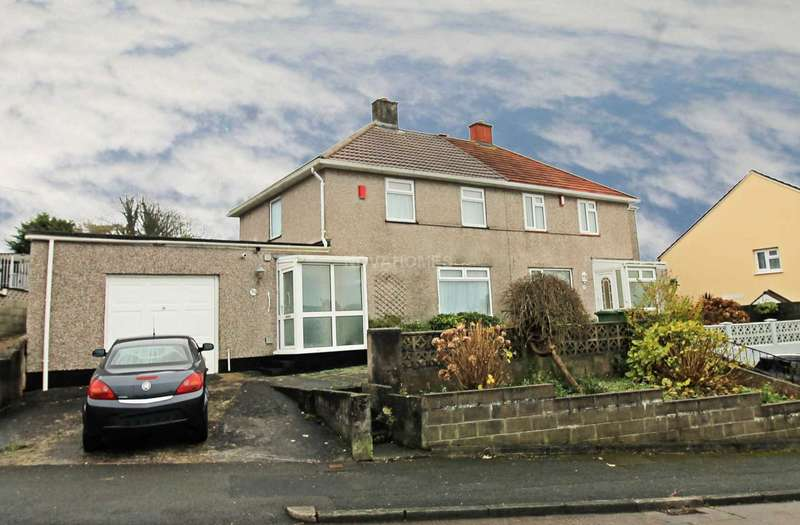 2 Bedrooms Semi Detached House for sale in Taunton Avenue, Whitleigh, PL5 4ER