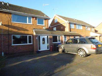 4 Bedrooms Semi Detached House for sale in Turner Road, Sawley, Nottingham
