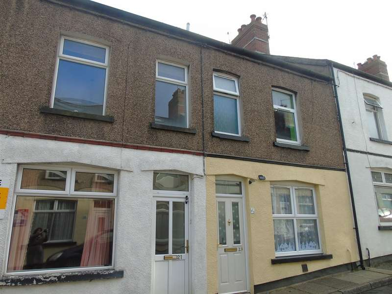 2 Bedrooms Terraced House for sale in Caradoc Street, Pentwyn, Pontypool