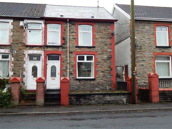 3 Bedrooms End Of Terrace House for rent in Tyntyla Road, Tonypandy