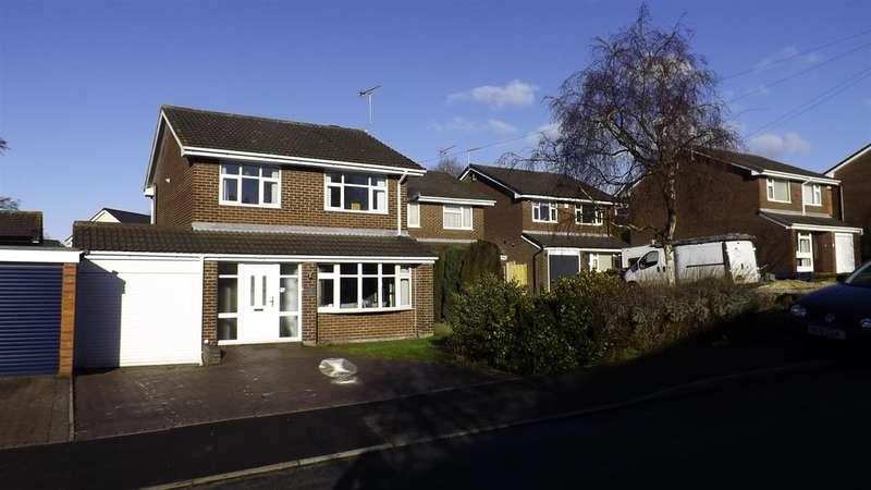3 Bedrooms Detached House for sale in Broome Hill, Newcastle-under-Lyme