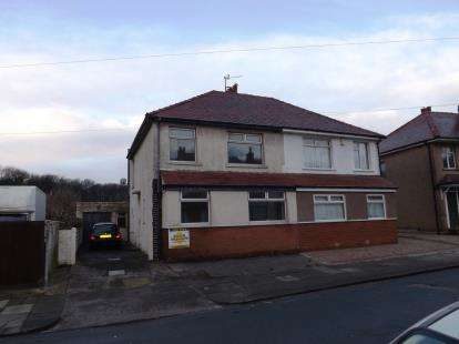 3 Bedrooms Semi Detached House for sale in Woborrow Road, Heysham, Morecambe, Lancashire, LA3