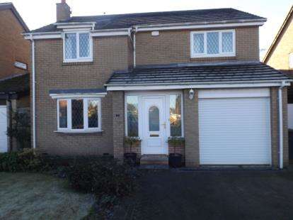 4 Bedrooms Detached House for sale in Eland Edge, Ponteland, Northumberland, Tyne Wear, NE20