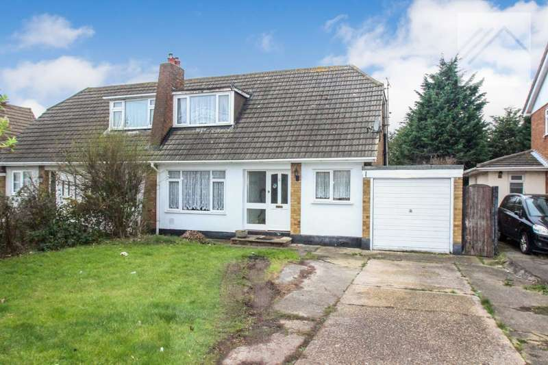 3 Bedrooms Semi Detached House for sale in Thorney Bay Road, Canvey Island - FOR THE BUDDING ALAN TITCHMARSH