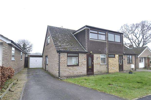 3 Bedrooms Semi Detached House for sale in Windmill Close, North Leigh, Witney, Oxon, OX29 6RP