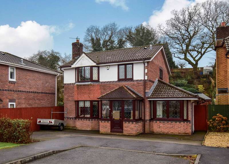 3 Bedrooms Detached House for sale in Rhyd Y Gwern Close, Rudry, Caerphilly, CF83
