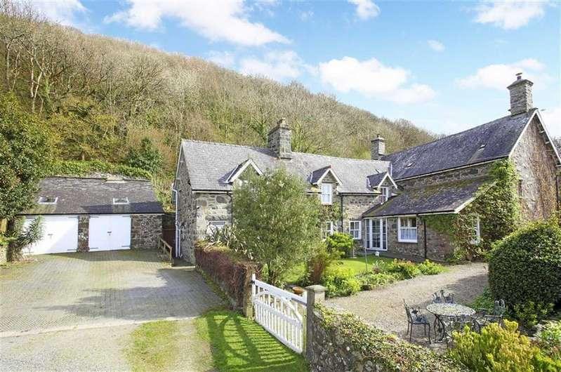6 Bedrooms Detached House for sale in Bronclydwr, Rhoslefain, Tywyn, Gwynydd, LL36