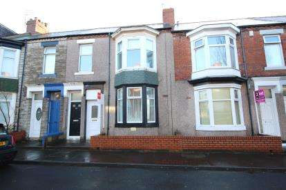 2 Bedrooms Flat for sale in Wharton Street, South Shields, Tyne and Wear, NE33