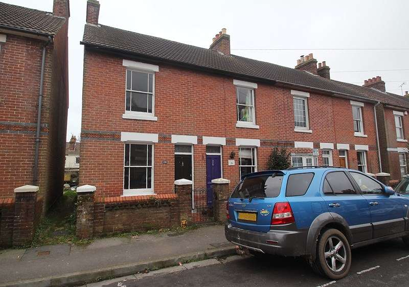 2 Bedrooms End Of Terrace House for sale in New Road, Fareham
