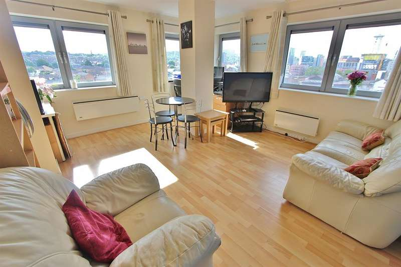 2 Bedrooms Flat for sale in Anchor Point, Bramall Lane, Sheffield, S2 4RR