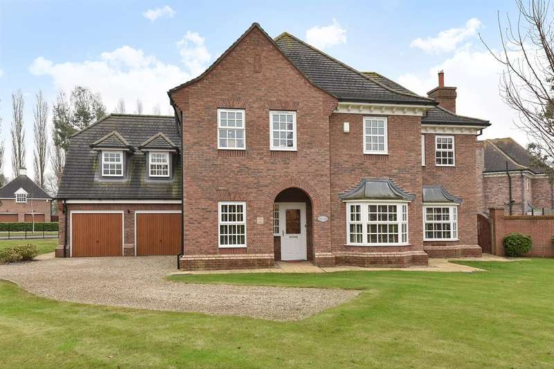 5 Bedrooms Detached House for sale in Oak Tree Way, Brandesburton, Driffield, YO25 8QE