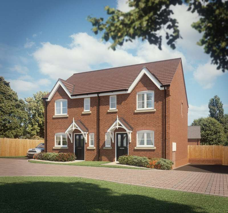 2 Bedrooms Semi Detached House for sale in Plot 30 The Arlington, Hartwell Grange