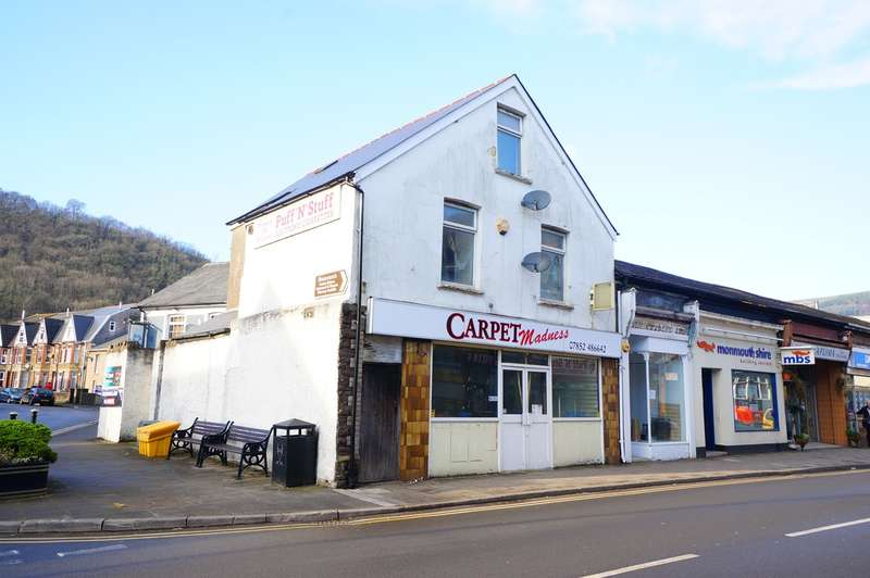 2 Bedrooms Commercial Property for sale in Tredegar Street, Central Buildings, Risca, NP11