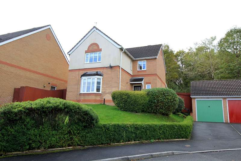 4 Bedrooms Detached House for sale in St Cenydd Close, Pontllanfraith, Blackwood, NP12