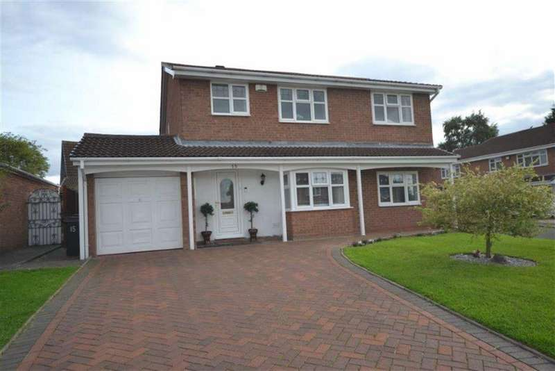 4 Bedrooms Detached House for sale in Gleneagles Close, Thornhill, Nuneaton