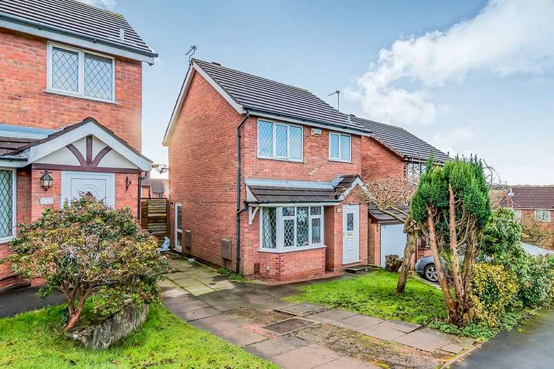 3 Bedrooms Detached House for sale in Ashridge Avenue, Newcastle, ST5